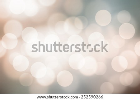 Defocused city night filtered bokeh on vintage  abstract background. - stock photo