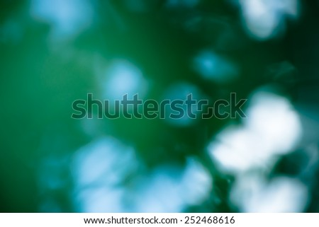 Defocused green and white - stock photo