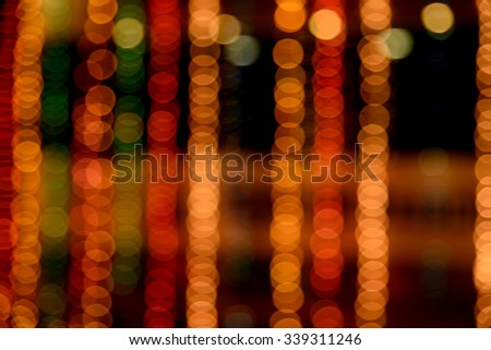 Defocused light dots abstract background. Abstract lights, blurred abstract pattern, Abstract bokeh background,   - stock photo