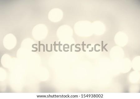 Defocused Vintage shiny lights Christmas Bokeh background like splashes. Christmas blur background with glowing bokeh - stock photo