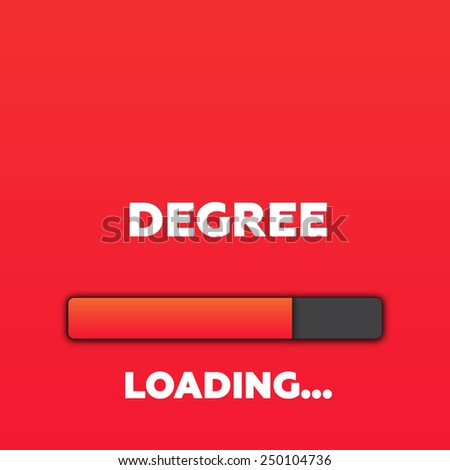 DEGREE - stock photo