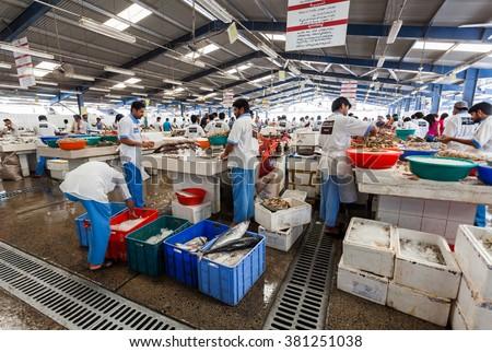 Deiradubai uae may 172014 fishermen sell stock photo for Closest fish market