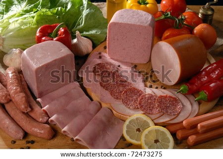 delicatessen - stock photo
