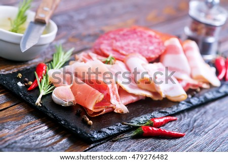 Delicious and tasty meat dishes