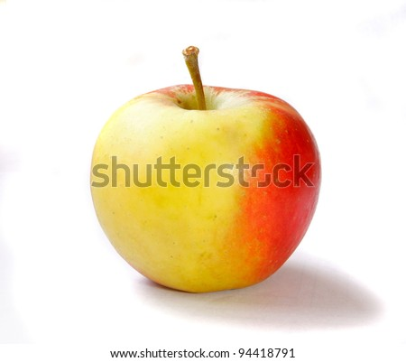 Delicious apple - stock photo