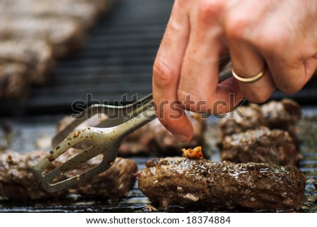 Delicious barbecue - stock photo