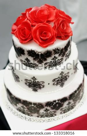 Black And White Wedding Cake Stock Images, Royalty-Free Images ...