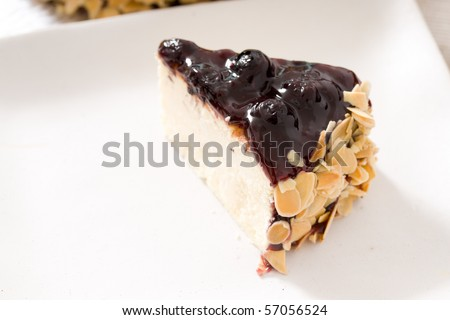 Delicious cake! Fresh and healthy! Ingredients: jam, lemon, butter, berries, cheese, chocolate, nuts