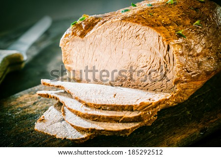 Beef And Pork Loaf Stock Images Royalty Free Images