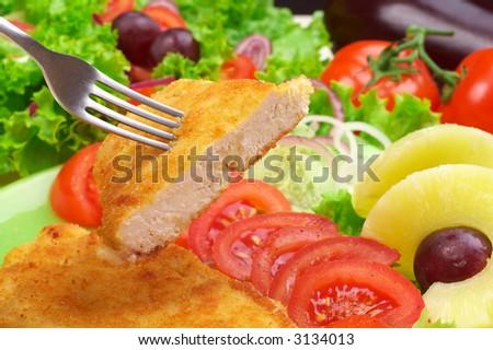 Delicious Dinner - stock photo