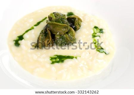 delicious dish - stock photo