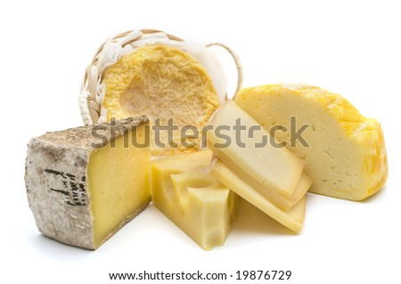Delicious french cheeses