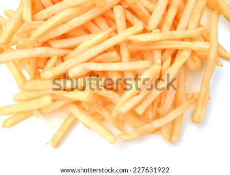 delicious french fries  - stock photo