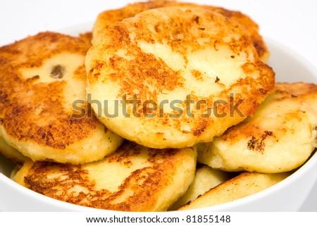 Delicious homemade cheesecakes - stock photo