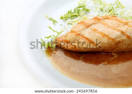 Delicious meatt - stock photo