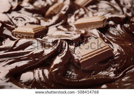 delicious melted chocolate - photo #5
