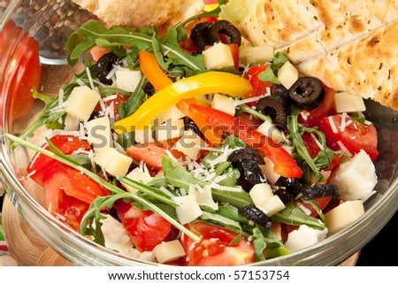 Delicious Summer Salad - stock photo
