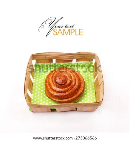 Delicious tasty buns - stock photo