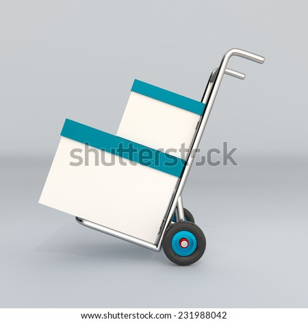 delivery and shipment service - stock photo