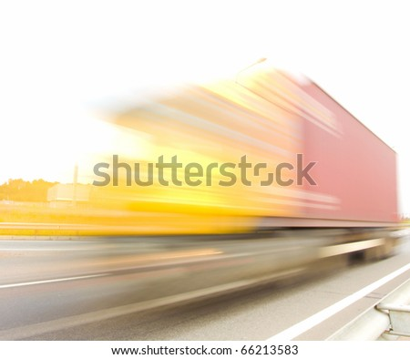 Delivery Transportation Moving - stock photo