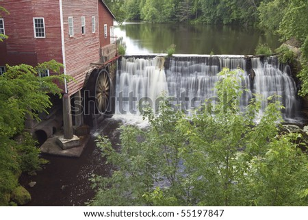 Dells Grist Mill - stock photo