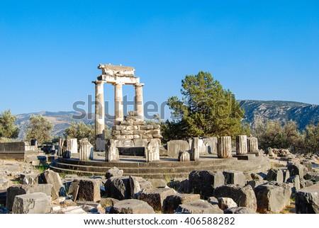 Delphi, Greece - stock photo