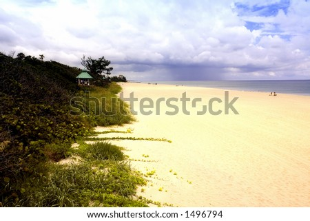 Delray Beach, Florida USA - stock photo