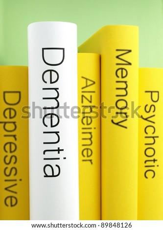 Dementia (book reviews) - stock photo