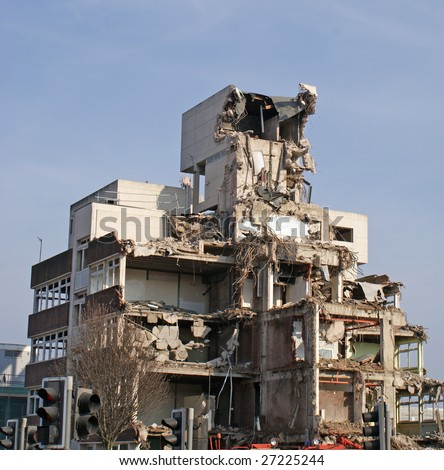 Demolition Site - stock photo
