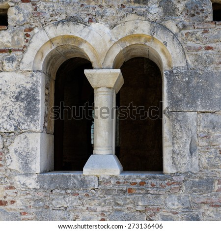 DEMRE, TURKEY - APR 21, 2015: Saint Nicholas (Santa Clause) church  in Demre, Turkey. It's an ancient Byzantine Church