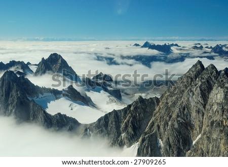 denali national park - stock photo