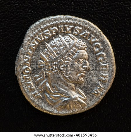 Denarius of-Septimius Bassianus Caracalla