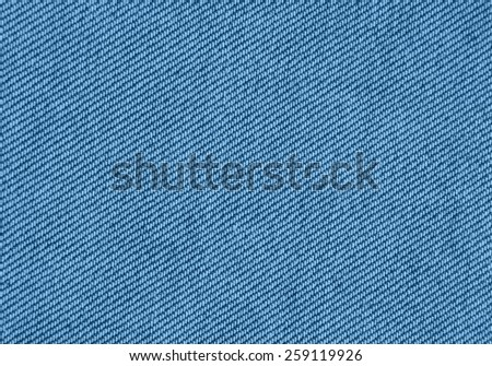 Denim blue closeup as natural canvas or background. - stock photo