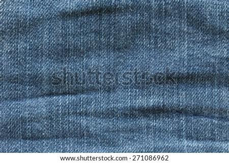 denim jean texture background - stock photo