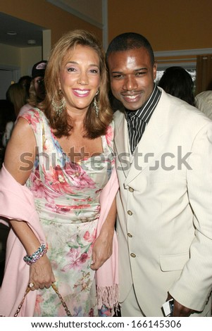 Denise Rich, Solomon Oneall at Hamptons Magazine Memorial Day party, Bridgehampton Surf and Tennis Club, Bridgehampton, NY, May 29, 2005