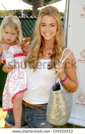 Denise Richards and daughter Sam at the 20th Annual A Time For Heroes Celebrity Carnival benefitting Elizabeth Glaser Pediatric AIDS Foundation. Wadsworth Theater, Los Angeles, CA. 06-07-09