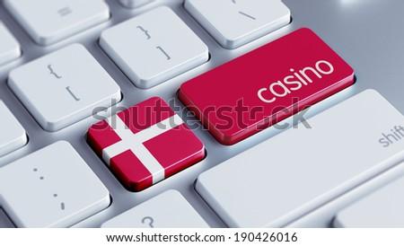 Denmark High Resolution Casino Concept - stock photo