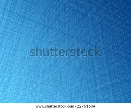 Dense 3d orthogonal blue light fibre system - stock photo