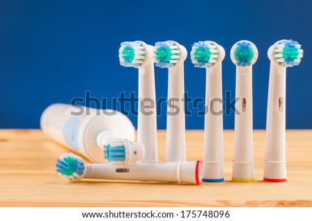 Dental care  tools - stock photo