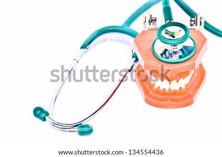dental checkup - stock photo