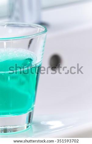 dental hygiene - stock photo