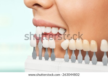Dental Hygiene, Dentist, Human Teeth. - stock photo