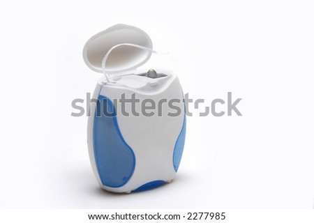 Dental Thread box - stock photo