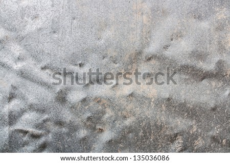 dented metal texture - stock photo