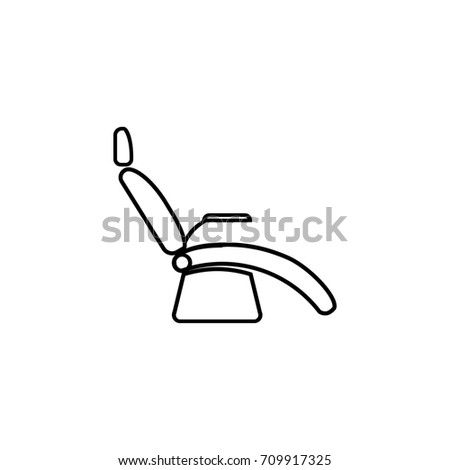 Medical Armchair Icons Figure Thin Linear Signs For Websites, Infographic