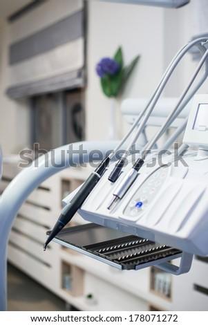 Dentist's instruments - stock photo