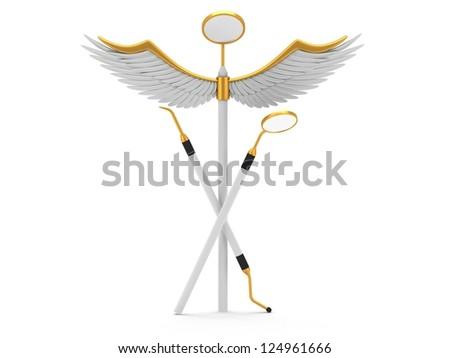 Dentistry Symbol On White Background Stock Illustration 124643950 ...