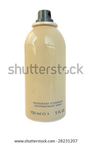 Deodorant spray - stock photo