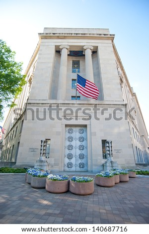 Department of Justice - stock photo
