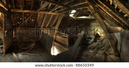 Derelict Granary, England - stock photo